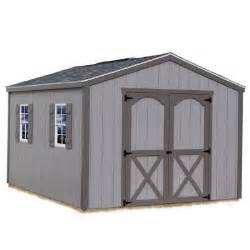 storage shed home depot best barns elm 10 ft x 16 ft wood storage shed kit elm