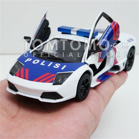 Mainan Anak Mobil Baterai Polisi Indonesia Putih Harga Murah jual diecast lamborghini murcielago patwal pjr polantas polisi indonesia mobil mobilan mainan