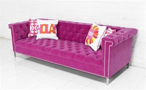 pink velvet sofa www roomservicestore com sinatra sofa in pink velvet