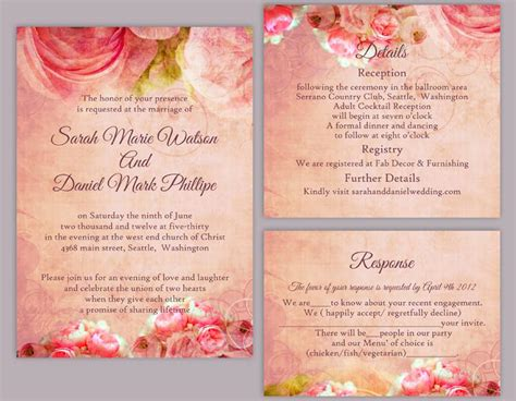 wedding invitation template psd wedding invitation templates psd all invitations ideas