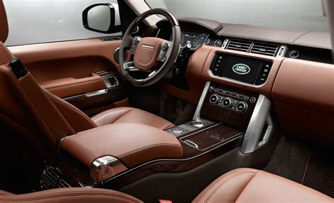 Landrover Interior by Car And Driver