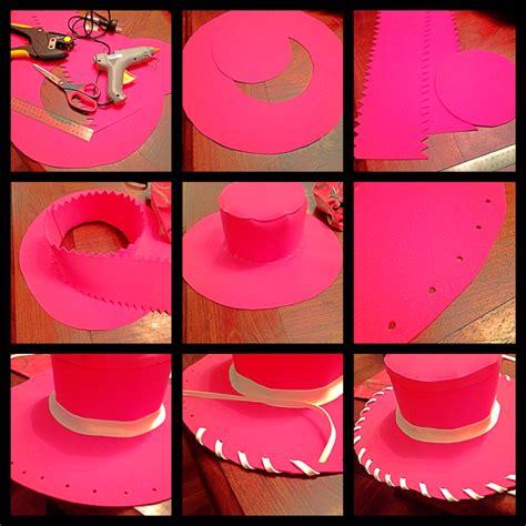 como hacer sombreros de vaqueros para ninas jessie sombrero disfraces pinterest cumple