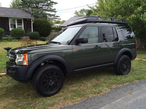 lifted land rover lr2 2 quot lift tire size land rover forums land rover