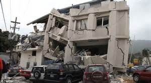 Haiti hit by major earthquake measuring 7.0 on the Richter