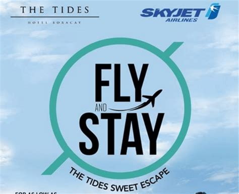 skyjet promo boracay airfare  hotel room accommodations package piso fare promo updates