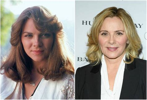 plastic surgery or natural aging changes kim cattrall s height weight she prefers natural aging