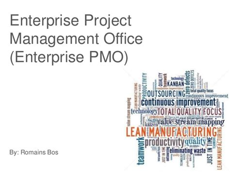 Mba Office Management by Enterprise Pmo
