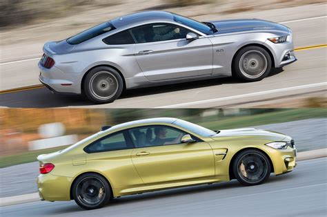 Mustang Vs Bmw by 2015 Ford Mustang Gt Or 2015 Bmw M4 Take Your