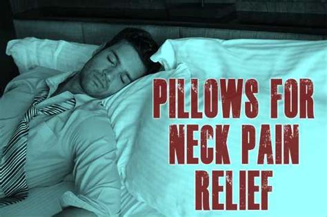 who makes the best pillow for neck what is the best pillow for neck relief