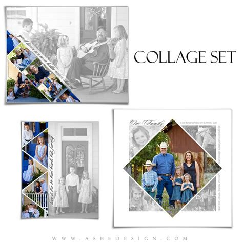 templates for collage posters 54 best images about collage photoshop templates on