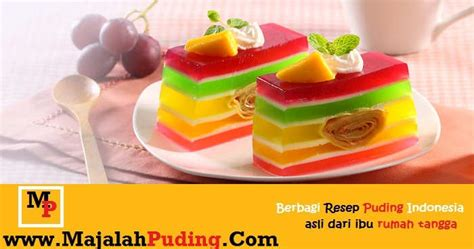 cara membuat puding lapis cara membuat puding lapis resep puding