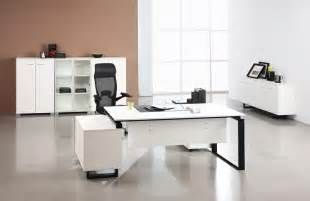 white modern office furniture modern office desks to enhance your office