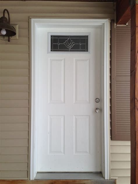 do you paint the door jamb when you paint your door