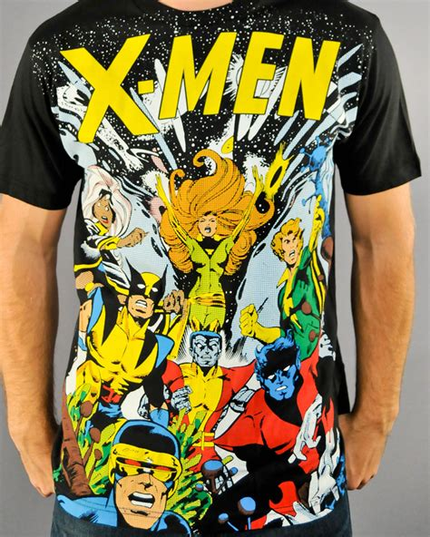 X Men Shirts Hoodies Hats And Merchandise Stylinonline | stylinonline com marvel hats shirts update the toyark