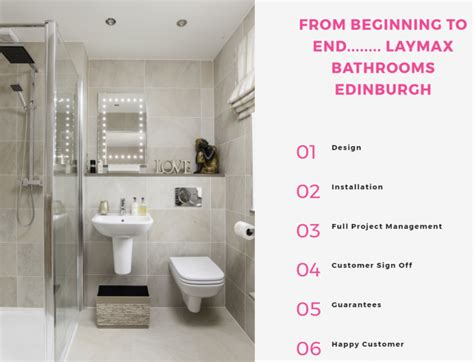one stop bathroom shop laymax the one stop shop edinburgh bathroom company