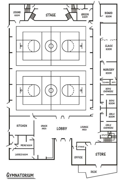 Church Gym Floor Plans by Floor Plans Doubling Gap Center Home Of Camp Yolijwa