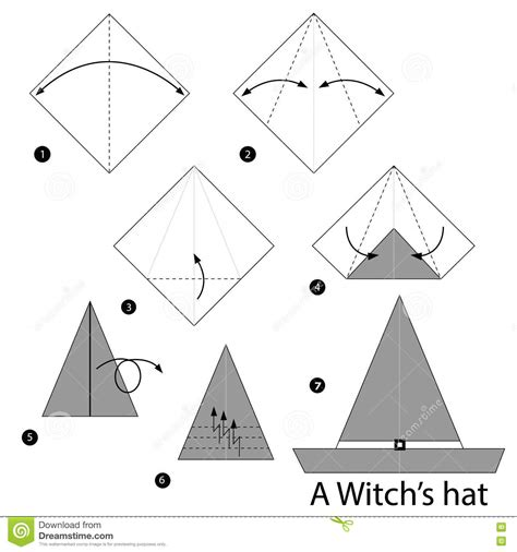 How To Make Nehru Cap Using Paper - 233 par 233 comment faire 224 origami le
