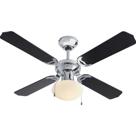 Buy Home Ceiling Fan Black And Chrome At Argos Co Uk