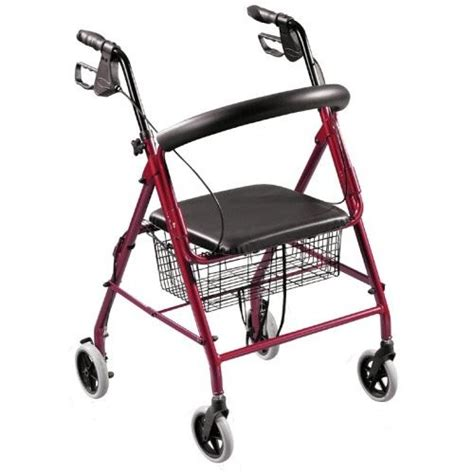 drive 4 wheel walker with seat drive 4 wheel r6rd aluminum rollator walker padded seat