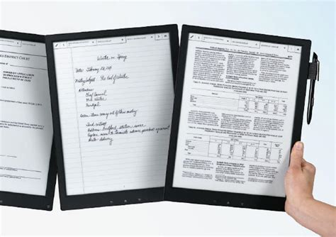 e paper writing tablet digital paper tablet uses e ink display electronic products