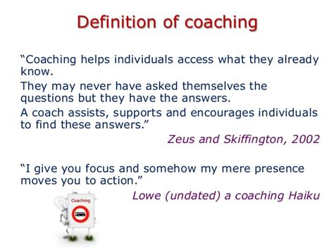 meaning of couching coachingforperformance