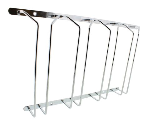 wine glass rack cabinet stemware holder holds 6 to