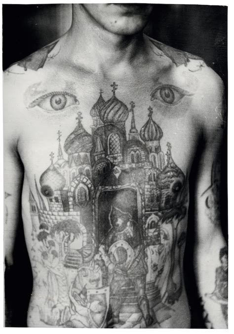russian mafia tattoos fascinating portraits of criminals covered in russian