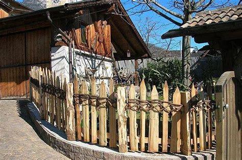 recinzione giardino fai da te bordure e recinzioni fai da te per giardini