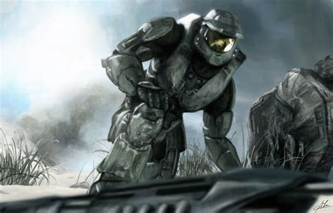 Chief Pomade Solid Black halo 3 master chief wallpaper wallpapersafari