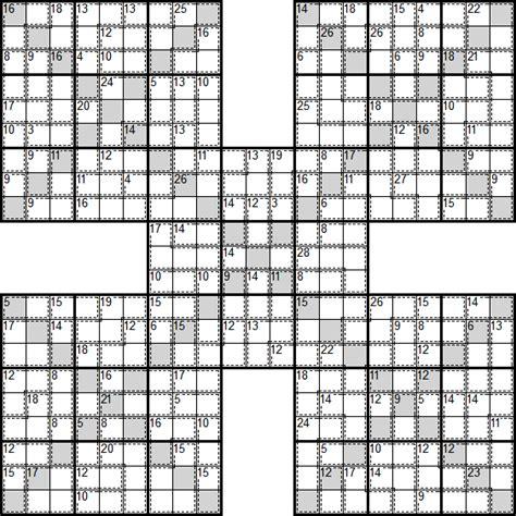 printable samurai sudoku x search results for 13 by 13 printable grid calendar 2015