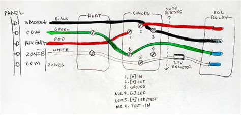 wiring diagram for smoke detectors wiring diagram schemes
