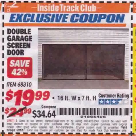 Garage Codes by Harbor Freight Tools Coupon Database Free Coupons 25