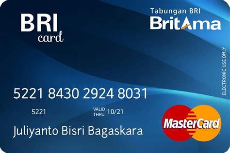 membuat kartu visa bni cara membuat rekening dan atm mandiri cara membuat kartu