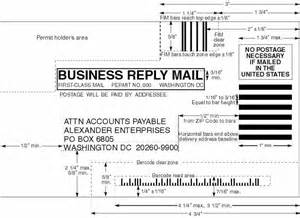 business reply card template domestic mail manual s922 business reply mail brm