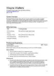 How Write Resume Examples And Samples sample resume page 1