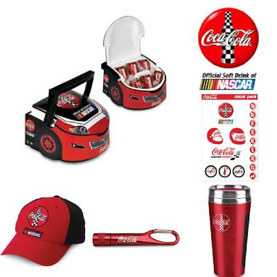 Nascar Giveaways - check out your favorite nascar chase drivers in the coca cola racing family google