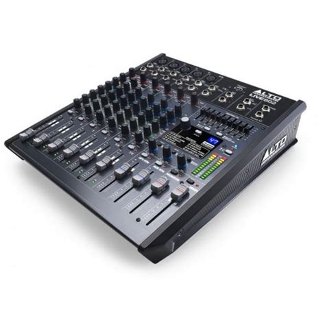 Mixer Alto Live 802 alto live 802 8 channel 2 mixer from rimmers