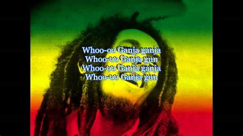 Bob Marley Ganja Gun Lyrics Youtube Bob Chandelier
