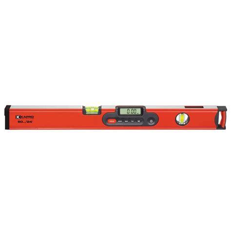 kapro 24 in digiman magnetic digital level with laser