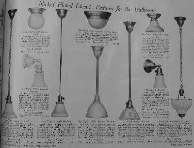 period bathroom fixtures lighting american foursquares 1910 1915 brass light