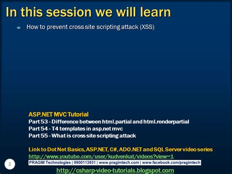 xss prevention tutorial sql server net and c video tutorial part 56 how to
