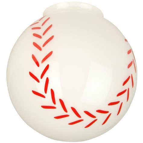 Baseball Light Fixture Replacement Globes For Ceiling Fans Craftmade Fan Light Fitter Glass 405 Baseball Globe Best