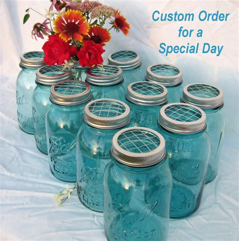 Order Centerpieces by Diy Wedding Flowers Jars Centerpieces Reserved Order