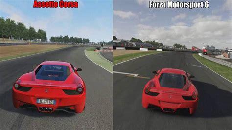 Assetto Corsa assetto corsa vs forza 6 xbox one controller gameplay