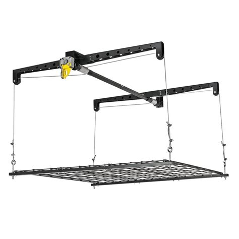 Garage Storage Lift Racor 250 Lb Heavylift Storage Platform Phl 1r The Home