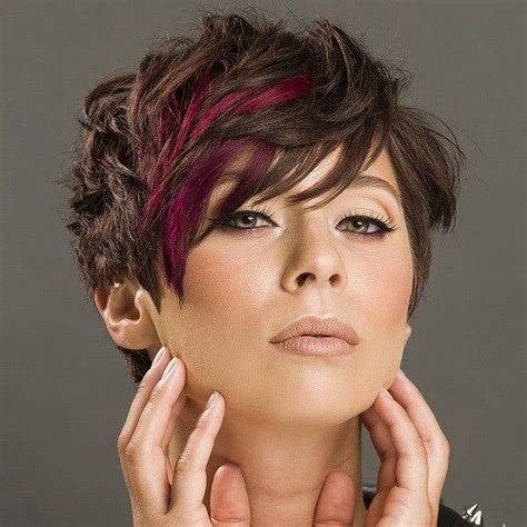 pixie cuts for mousy browns with highlights short choppy haircuts colors and choppy haircuts on pinterest