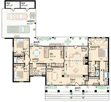 house plans with and bathrooms his and bathrooms 8408jh 1st floor master suite carport corner lot pdf split