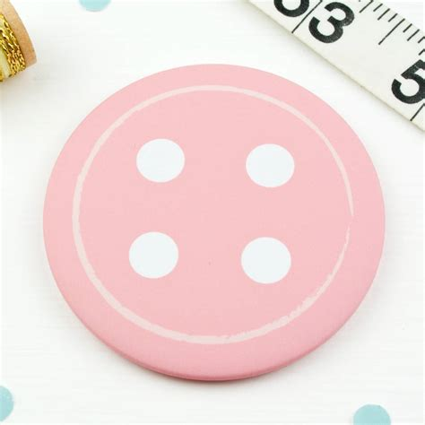 buttons pockets button pocket mirror or magnet by joanne hawker