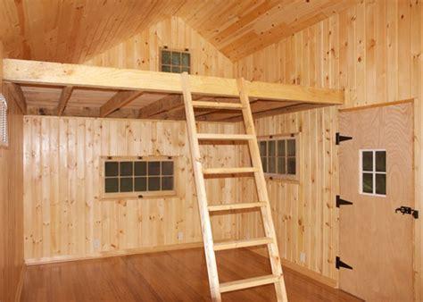 talen   cabin plans  loft