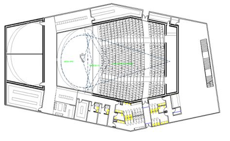 layout plan details college auditorium hall architecture layout plan details
